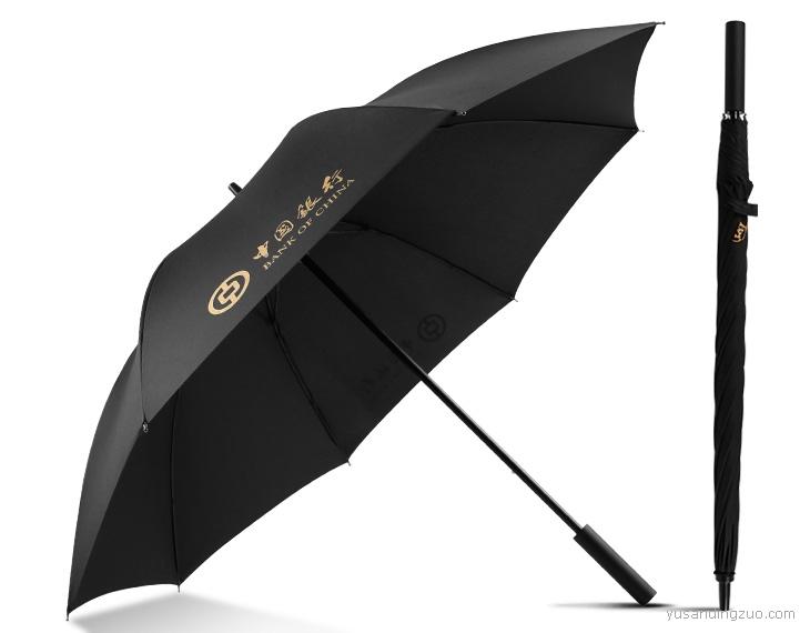 中国银行-推拉式高尔夫伞